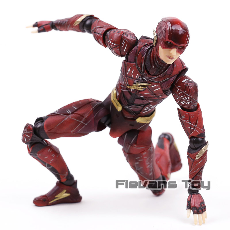 Kare Enix oyun sanat Kai flaş Justice League no.1 2 Action Figure koleksiyon Model oyuncak